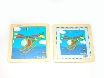 HELICOPTER 9PCS JIGSAW