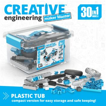 Creative Engineering 30 In 1: Maker Master | By  Engino