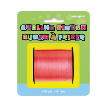 Curling Ribbon - Red 91.4m
