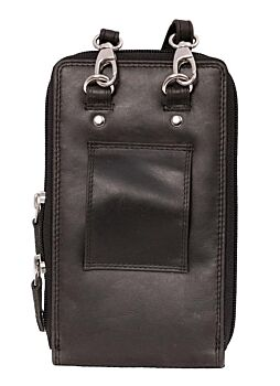 PCOP01   Oil Pull Up Mobile Phone Bag