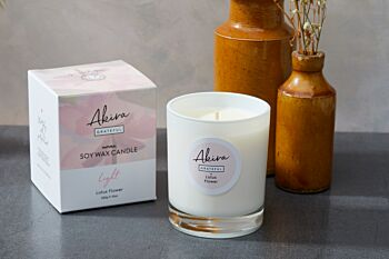 Soy Wax Candle Lotus Flower - 220g