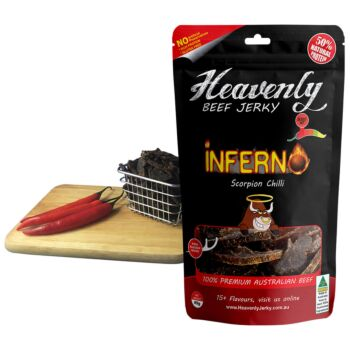Beef Jerky Inferno Flavour