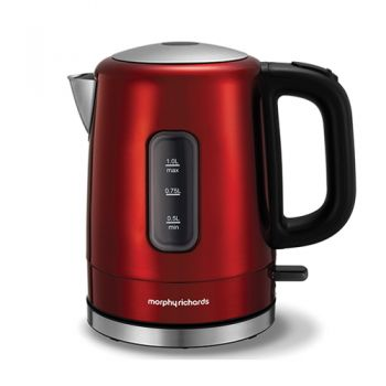 Morphy Richards Accents 1L Kettle Red - 101007