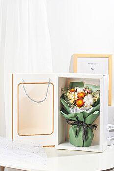 Flowers Bouquet   Dried Flowers   Celebration Bouquets   Wedding Gifts   Green