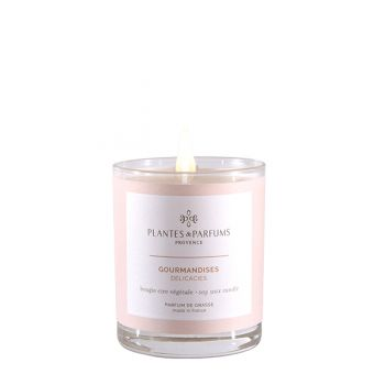75g Perfumed Hand Poured Candle - Delicates