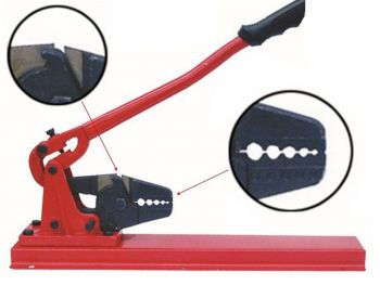 Professional 540mm Bench Swager Range 1.5mm to 5.0mm