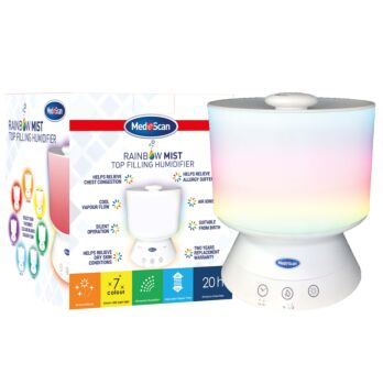 Medescan Ultra Sonic Top Fill Cool Mist humidifier