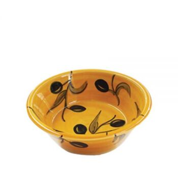 Olives Conical Bowl
