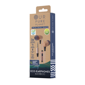 Our Pure Planet Earphones (bamboo style)
