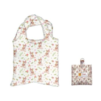 Eco Foldable Shopping Bag - Little Bunny by Sillier Than Sally