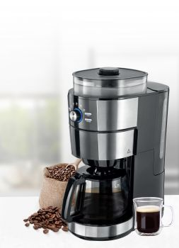TODO Grind and Brew Coffee Machine Conical Grinder Drip Coffee 1.25L 1000W