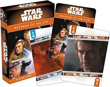 Star Wars - Ep. 3 Revenge Of The Sith Playing Cards