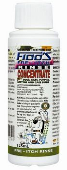 FIDOS RINSE CONCENTRATE FREITCH 125ML
