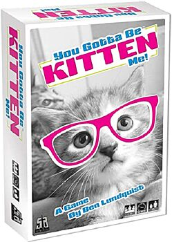 Playroom Entertainment You Gotta Be Kitten Me Card Games