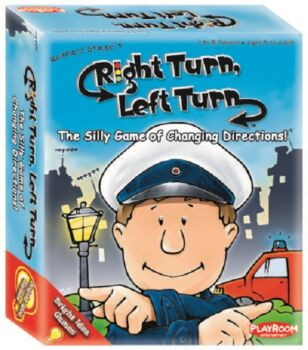 Playroom Entertainment Right Turn Left Turn Board Game