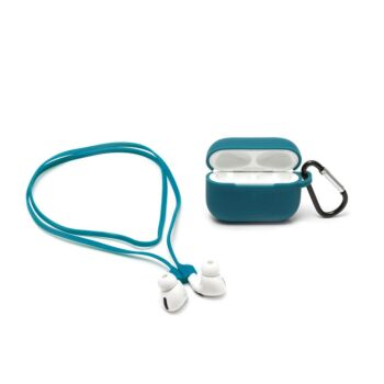 Air'n Go - Case and Cord Set for Airpods Pro - Petrol Blue