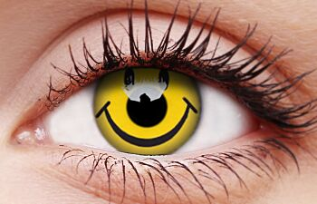 Smiley Coloured Contacts