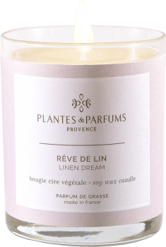 180g/6.34 oz Perfumed Hand Poured Candle - Linen Dream