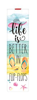 Bookmark With Elastic Band - Flipflops