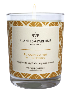 75g Perfumed Hand Poured Candle - By the Fireside
