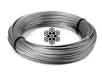 3.2mm 7x7 G316 Stainless Steel Wire Rope