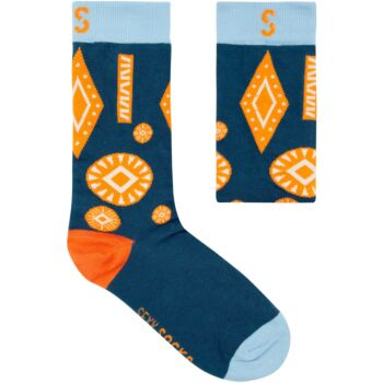 COTTON SOCK - Africa Stamped