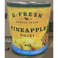 Gfresh Pineapple Pieces In Light Syrup 565g