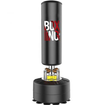 G14 Black 170CM Standing Punching Bag Boxing Punch Hydraulic Shock Absorber