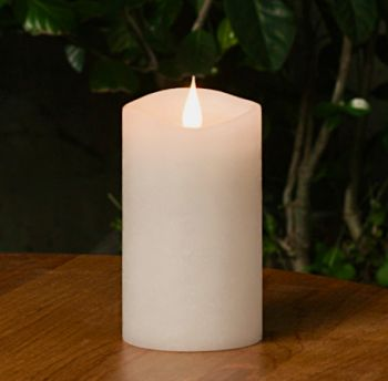 """5"""" Ivory 3D Flickering Flame LED Candle"""
