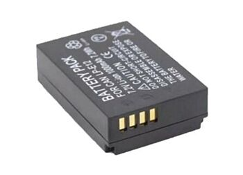 2x FAST CHARGE LP-E12 Camera Battery For Canon EOS M50, M2, EOS M100, 100D TP
