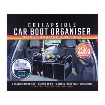 Collapsible Trunk Organiser