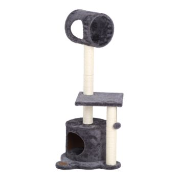 Charlie's Pet High Cat Tree Tower - Charcoal - 44x40x102.5cm
