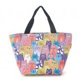 Eco Chic Multiple Cats Lunch Bag