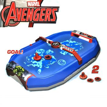 Marvel Avengers Tabletop Air Hockey Game Party Entertainer