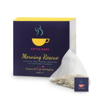 Morning Rescue - herbal tea infusion for soothing tummies