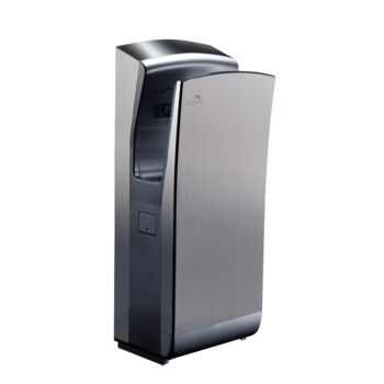 Dolphy Stainless Steel Jet Hand Dryer 1650W - Silver