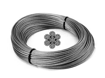 2.0mm 7x19 G316 Stainless Steel Wire Rope