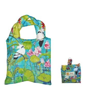 Eco Foldable Shopping Bag - Helen Dubrovich