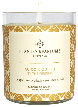 180g/6.34 oz Perfumed Hand Poured Candle - By the Fireside