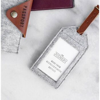 THE JOINERY   Luggage Tag - Grey