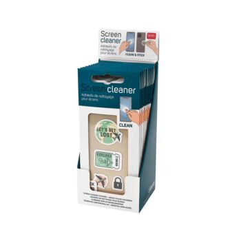 Screen Cleaner - Travel - Display Pack of 12 Pieces