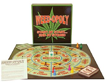 Play All Day Games Weedopoly Card Game