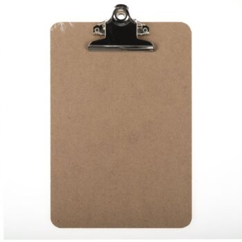 Clipboard MDF Large Clamp A5