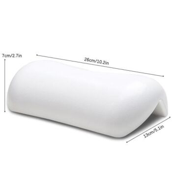 Bath Pillow For Home Relaxation - White