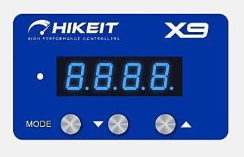 Blue Faceplate for HIKEit X9 i Electronic Drive Throttle Pedal Accelerator Controller