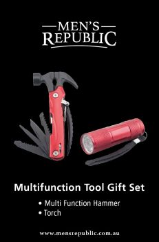 Men's Republic Gift Pack - Multifunction Hammer and Torch