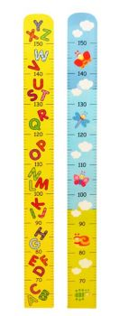 Wooden Height growth chart - Vehicles