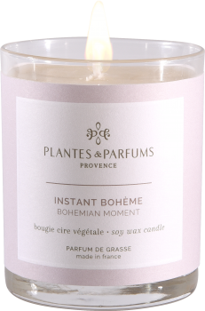 180g/6.34 oz Perfumed Hand Poured Candle - Bohemian Moment