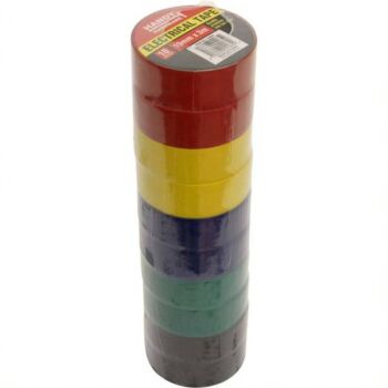 Electrical Tape 10pack 19mm x 3mtr