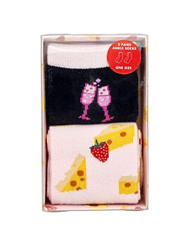 Frank And Rosie 2 Pairs Ankle Socks In Gift Box